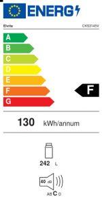 Energimärkning kylskåp CKS3145V